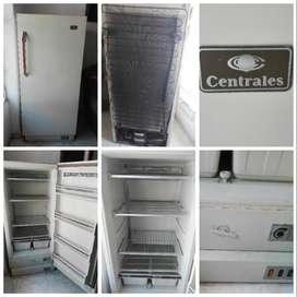 congelador, heladera, frigorifico vertical maraca centrales