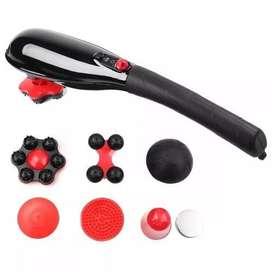 Masajeador Recargable 7 En 1 Vibración Body Massager