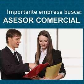 Asesor Comercial - Pasantías