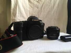 Camara Canon 5D MARK II, lente 50mm f 1.8 Stm