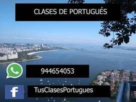 PORTUGUÉS PARA TODOS - CUALQUIER TIPO DE EDAD CON NATIVOS