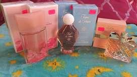 Avon: Perfume Soft Musk/colonia Toque de Amor/Perfume Luck