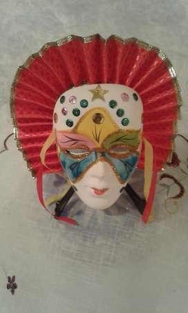 decorativas mascaras tipo venecianas