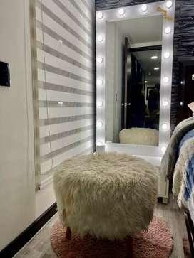 Venta de espejo Hollywood en Madera tipo cedro, pino y demás