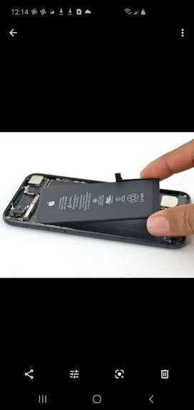 Promocion en Cambio de baterías originales iphone 8 y 8 plus