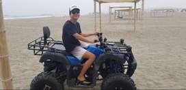 VENDO CUATRIMOTO  ATV200 MOTOR TAO-TAO 1 MES DE USO