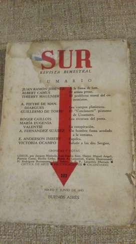 Revista Sur - Mayo y junio 1953 - Victoria Ocampo