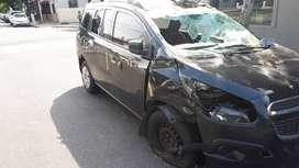 Chevrolet spin lt chocada