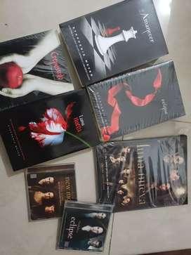 Coleccion original saga crepúsculo