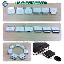 Adaptador iPhone 4,4s 30pin-V8 Micro Usb