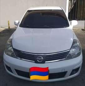 Vendo Nissan Tiida modelo 2008, $20'500.000 NEGOCIABLE