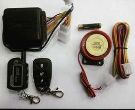 CONTRA ENTREGA TODO EL PAIS Alarma para Moto Enciende y Apaga desde el control a distancia. Doble Via