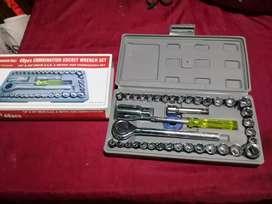 Set de llaves tubos