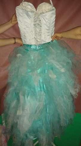 Vestido de fiesta de 15