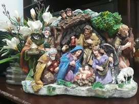 venta de motivos navideños en cerámicas