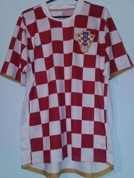 Camiseta Nike Croacia Utilería tela de juego