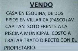 SE VENDE CASA EN VILLARICA - PASCO