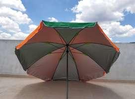 Parasoles, impermeables doble tela  con filtro solar