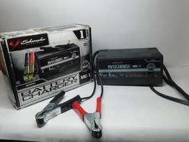 Cargador de baterias de 6V y 12V de 1 Amperio