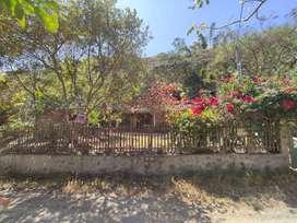 Venta de terreno y casa en Linderos (Vilcabamba)
