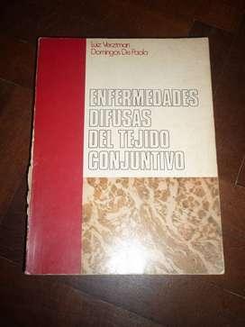 ENFERMEDADES DIFUSAS DEL TEJIDO CONJUNTIVO . VERZTMAN Y DE PAOLA . LIBRO MEDICINA 1974