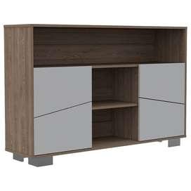 Biffet estilo nordico, estante / mueble para tv