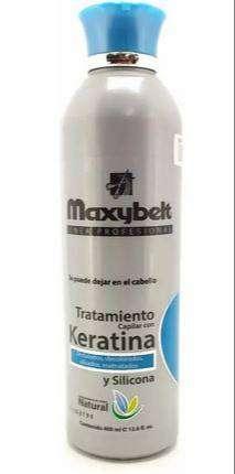 Tratamiento Capilar Maxybelt Con Keratina Y Silicona