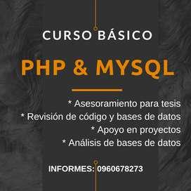 PHP/Mysql curso programación