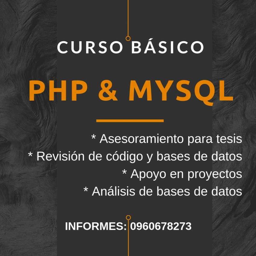 PHP/Mysql curso programación 0