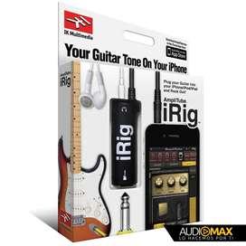 Ik Multimedia Amplitube Irig Adaptador De Interfaz De Guitarra y bajo
