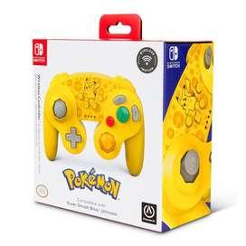 Control Nuevo Nintendo Switch Wireless Style GameCube - Pokemon -
