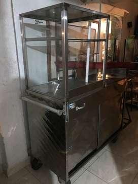 Se vende Fritador con vitrina