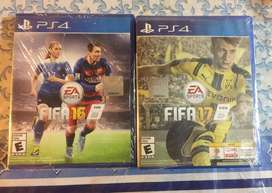 Fifa 16 Y 17 Ps4 Fisico Original