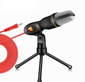Micrófono condensador SF-666 con trípode ( cancelación de ruido )