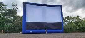 Pantalla Gigante para Cine 15*20 mtrs