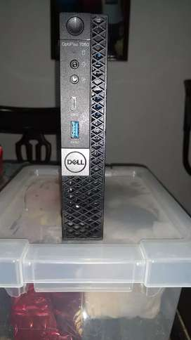 Vendo mini PC Dell Optiplex 7060 octava generación