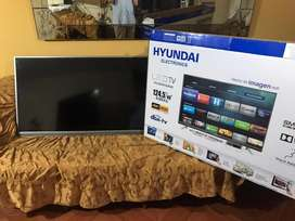 "Televisor HYUNDAI LED 49"" UHD 4K Smart TV HYLED4916IM4K"