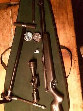 Vendo rifle aire comprimido pcp