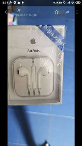 AUDIFONOS ORIGINALES EARPODS