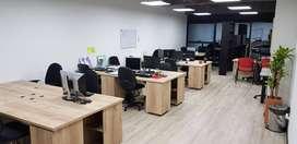 Por cierre de oficina se remata mobiliario