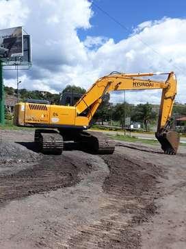 Vendo excavadora Hyundai 210lc-7