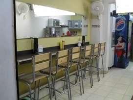 Muebles para negocio de comidas. Desde $ 30.000 pesos