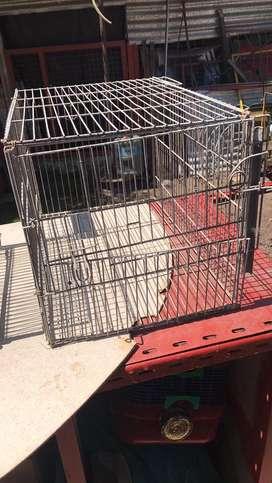 Jaula para conejos, cobayos (VENDO/ PERMUTO)