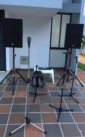 Alquiler de amplificacion  de sonido