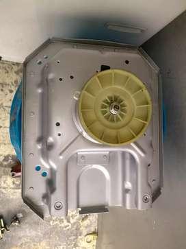 Trasmisión Whirlpool americana nueva plataforma más tina más canasta caña larga