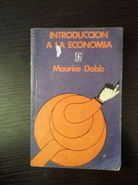 Libro Introducción a la economía - Maurice Dobb