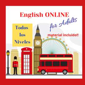 Clases ONLINE de INGLES