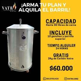 barril asador
