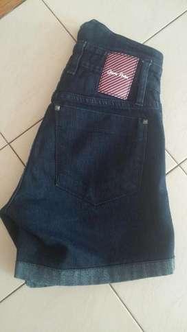 Short Jeans Tiro Alto Opera Prima T26