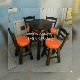 Mesas Y Sillas para Bar O Restaurante